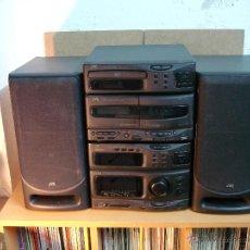 Radios antiguas: MINI CADENA JVC CA-S50RBK (AMPLIFICADOR+TUNER+CD PLAYER+DOBLE PLATINA+ ALTAVOCES+MANDO). Lote 44730655