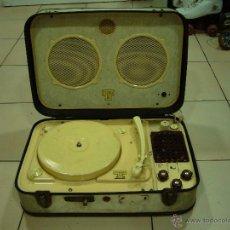 Radios antiguas: TEPPAZ 336 TOCADISCOS PORTÁTIL (VÁLVULAS). Lote 45123517