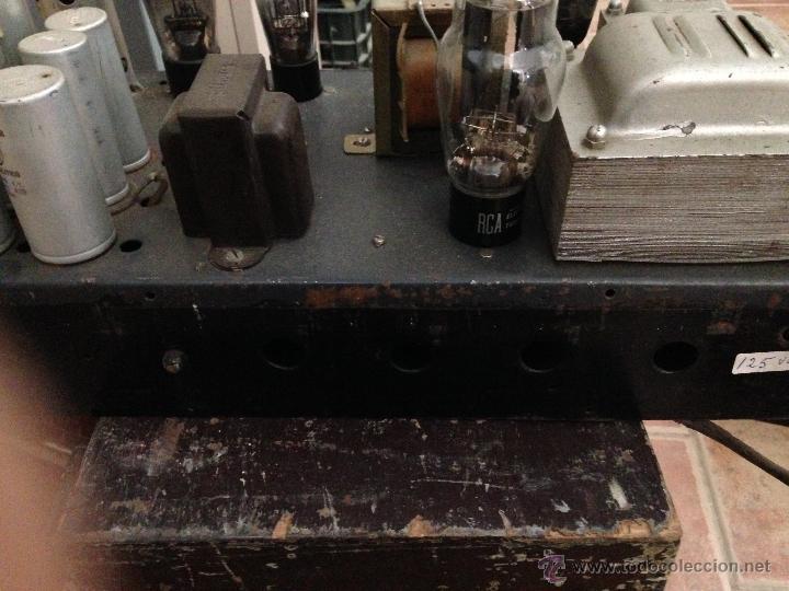 Radios antiguas: AMPLIFICADOR VALVULAS - Foto 2 - 48181034