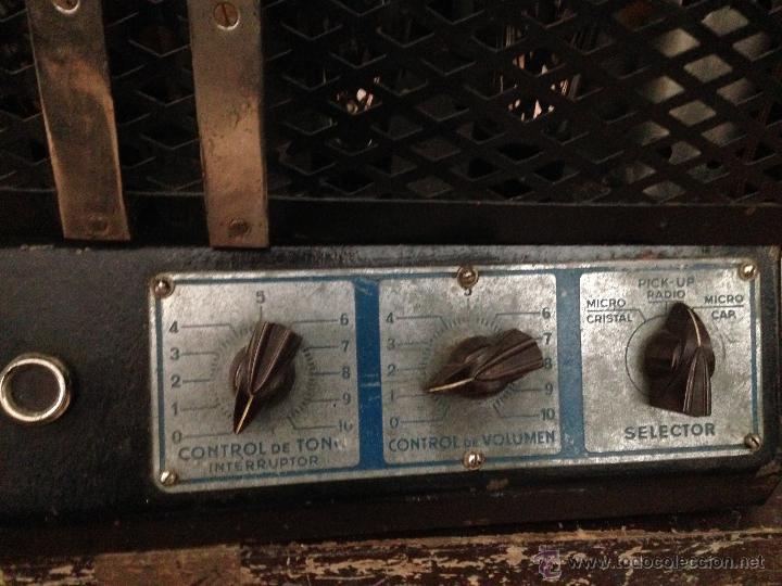 Radios antiguas: AMPLIFICADOR VALVULAS - Foto 8 - 48181034