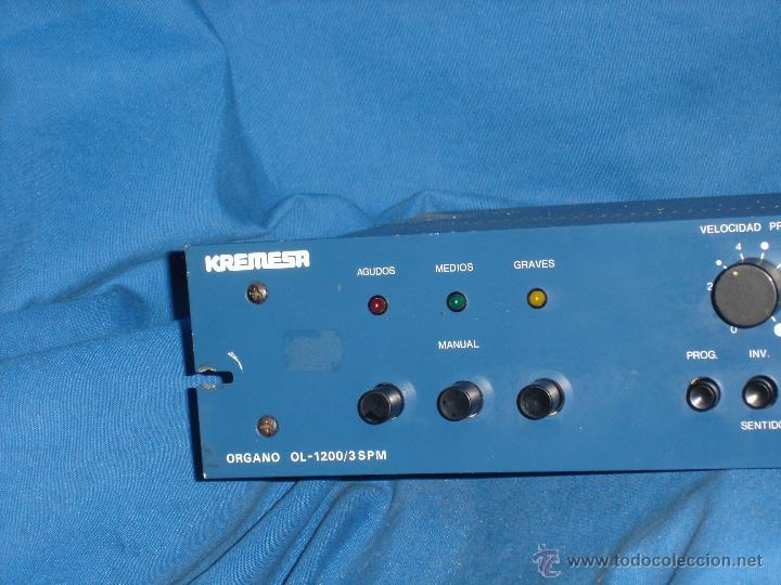 Radios antiguas: DIMMER OL-1200/3SPM MARCA KREMESA - AÑOS 70/80 - ECHO EN ESPAÑA - Foto 4 - 49751195