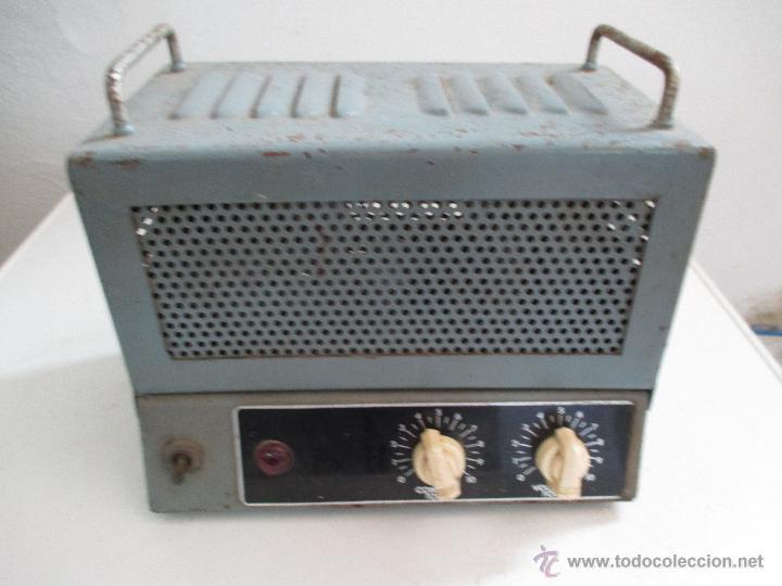AMPLIFICADOR ANTIGUO A VALVULAS (Radios, Gramófonos, Grabadoras y Otros - Amplificadores y Micrófonos de Válvulas)