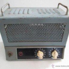 Radios antiguas: AMPLIFICADOR ANTIGUO A VALVULAS. Lote 50374203