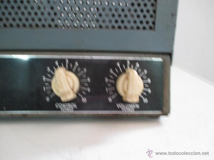 Radios antiguas: AMPLIFICADOR ANTIGUO A VALVULAS - Foto 2 - 50374203