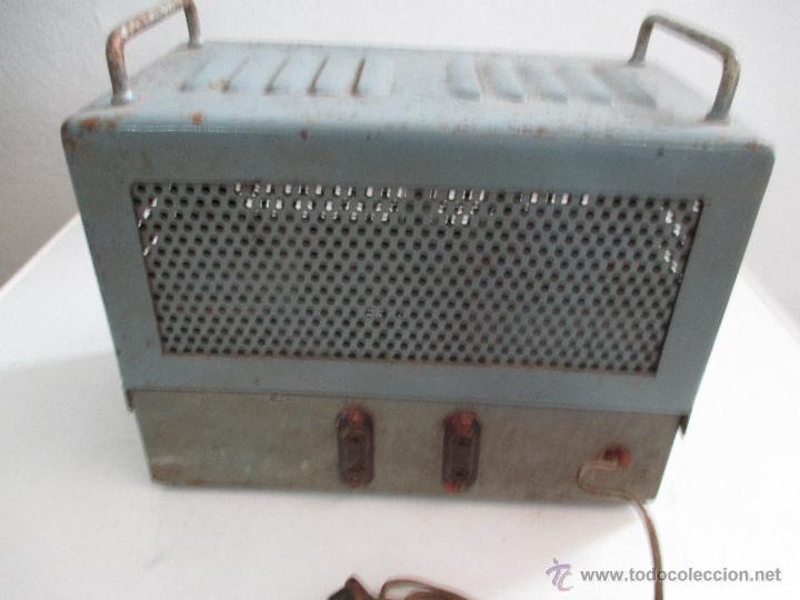 Radios antiguas: AMPLIFICADOR ANTIGUO A VALVULAS - Foto 3 - 50374203