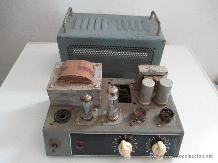 Radios antiguas: AMPLIFICADOR ANTIGUO A VALVULAS - Foto 5 - 50374203