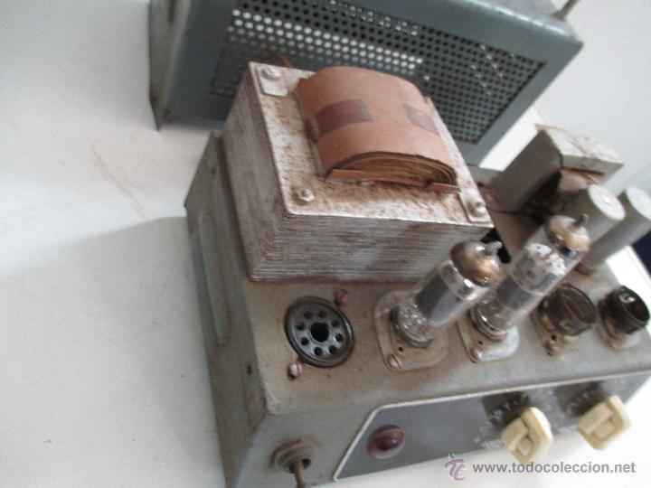 Radios antiguas: AMPLIFICADOR ANTIGUO A VALVULAS - Foto 6 - 50374203