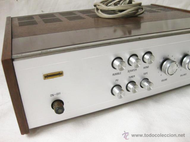Radios antiguas: AMPLIFICADOR PHILIPS HIFI 22RH590 A30 - VINTAGE AMPLIFIER 22RH590/00Z - 1969 - Foto 3 - 50616853
