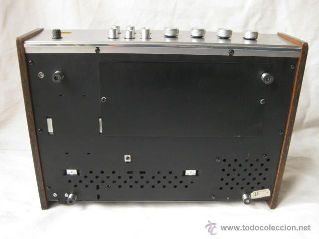 Radios antiguas: AMPLIFICADOR PHILIPS HIFI 22RH590 A30 - VINTAGE AMPLIFIER 22RH590/00Z - 1969 - Foto 5 - 50616853