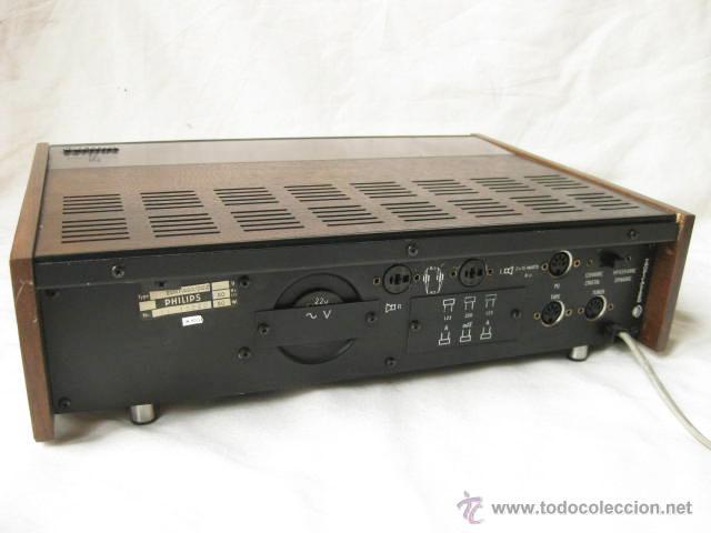Radios antiguas: AMPLIFICADOR PHILIPS HIFI 22RH590 A30 - VINTAGE AMPLIFIER 22RH590/00Z - 1969 - Foto 6 - 50616853
