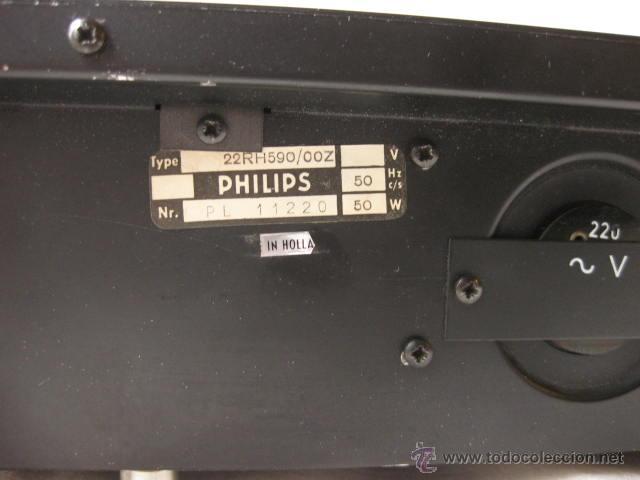 Radios antiguas: AMPLIFICADOR PHILIPS HIFI 22RH590 A30 - VINTAGE AMPLIFIER 22RH590/00Z - 1969 - Foto 7 - 50616853