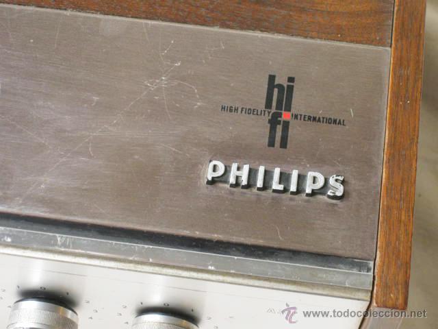 Radios antiguas: AMPLIFICADOR PHILIPS HIFI 22RH590 A30 - VINTAGE AMPLIFIER 22RH590/00Z - 1969 - Foto 9 - 50616853