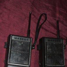 Radios antiguas: WALKIE TALKIE, MASCOT, MADE EN JAPON CON MORSE. Lote 51406642