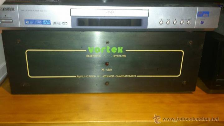 AMPLIFICADOR VORTEX CUADRAFONICO - 90X90 W. - UN LUJO DE ETAPA - AÑOS 90 - VINTAGE TOTAL. (Radios, Gramófonos, Grabadoras y Otros - Amplificadores y Micrófonos de Válvulas)