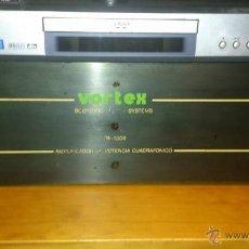 Radios antiguas: AMPLIFICADOR VORTEX CUADRAFONICO - 90X90 W. - UN LUJO DE ETAPA - AÑOS 90 - VINTAGE TOTAL.. Lote 51664827