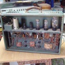 Radios antiguas: AMPLIFICADOR A VALVULAS AÑOS 40. Lote 52761297