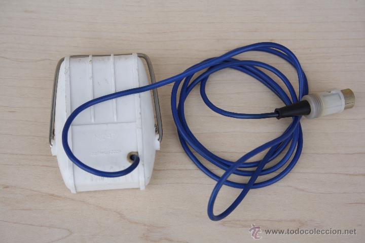 Radios antiguas: Curioso micrófono grabadora de mesa - Octava - Vintage, año 1968 - Modificación M 47 - Foto 5 - 52882642