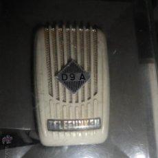 Radios antiguas: MICRÓFONO TELEFUNKEN D9A . Lote 53280006