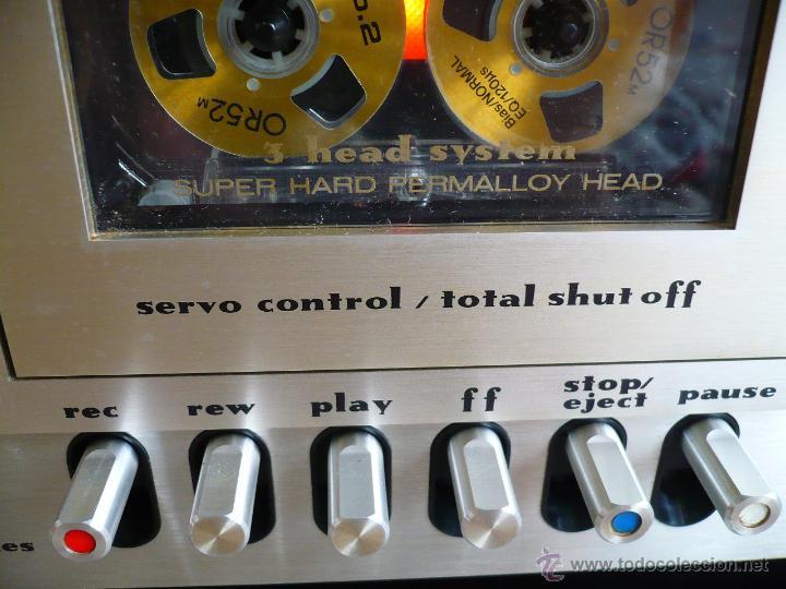 Radios antiguas: MARANTZ 5030 SUPER HARD PERMALLOY HEAD LEGENDARIA PLETINA VINTAGE- 3 CABEZALEZ - Foto 4 - 53210093