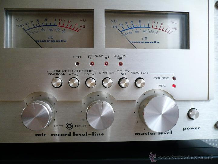Radios antiguas: MARANTZ 5030 SUPER HARD PERMALLOY HEAD LEGENDARIA PLETINA VINTAGE- 3 CABEZALEZ - Foto 5 - 53210093