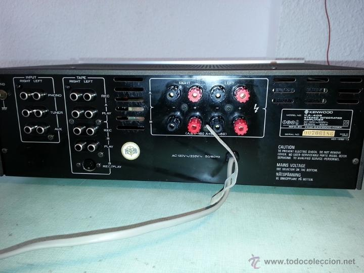 Amplificador kenwood ka-405 - Sold through Direct Sale