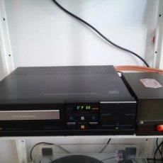 Radios antiguas: CD PHILIPS 104 MODIFICADO CON EL RELOJ DE VÁLVULAS - ASOMBROSO SONIDO SIN COMPETENCIA. Lote 54974628