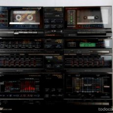 Radios antiguas: EQUIPO DE MÚSICA VINTAGE SANYO JA-V6150 ARCHITECT SERIES. Lote 55790088