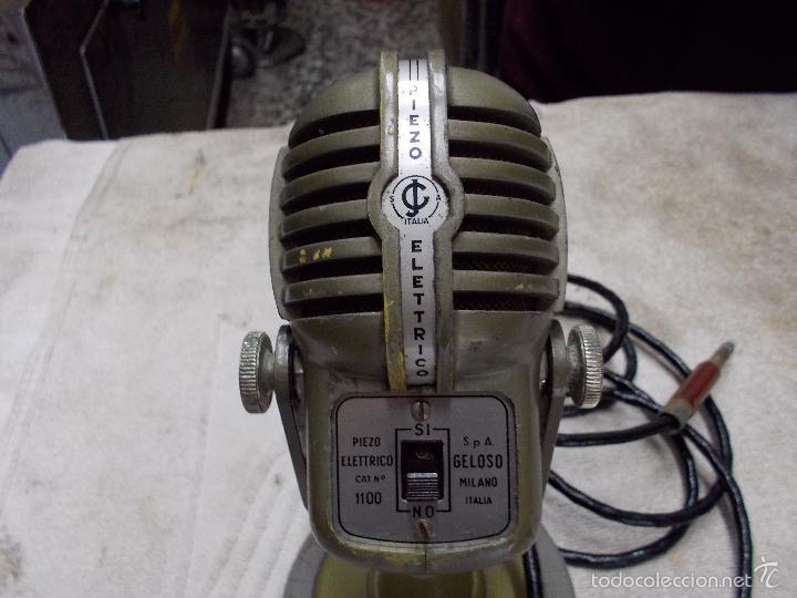Radios antiguas: Microfono Piezo electrico - Foto 2 - 55912397