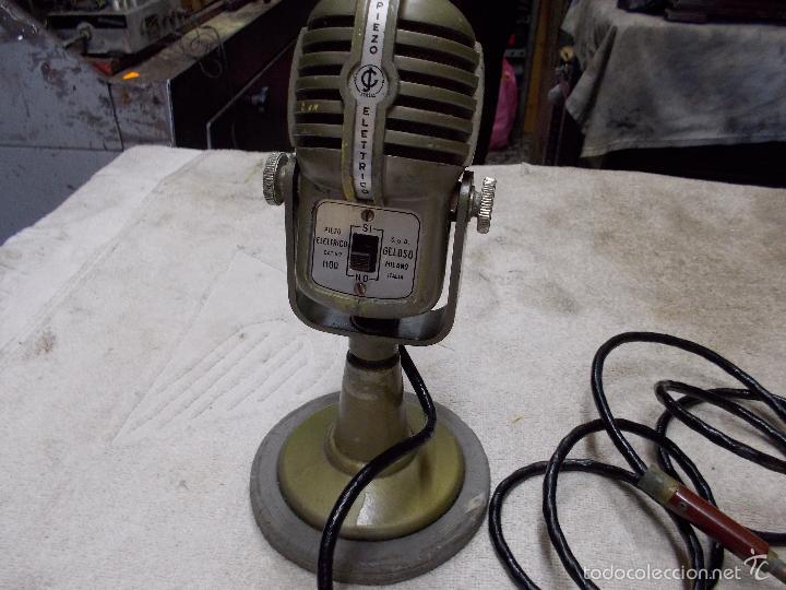 Radios antiguas: Microfono Piezo electrico - Foto 6 - 55912397