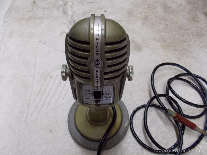 Radios antiguas: Microfono Piezo electrico - Foto 7 - 55912397