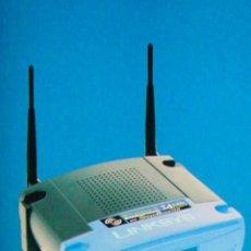 Radios antiguas: ROUTER WIRELESS CISCO WRT54GS LINKSYS NUEVO EN SU CAJA CON TODO LOS ACCESORIOS. Lote 56563112