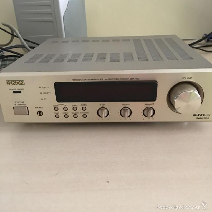 AMPLIFICADOR DENON DRA-F100 (Radios, Gramófonos, Grabadoras y Otros - Amplificadores y Micrófonos de Válvulas)