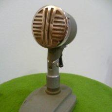 Radios antiguas: ANTIGUO MICRÓFONO DE FABRICACIÓN SOVIÉTICA - (URSS). Lote 60801411