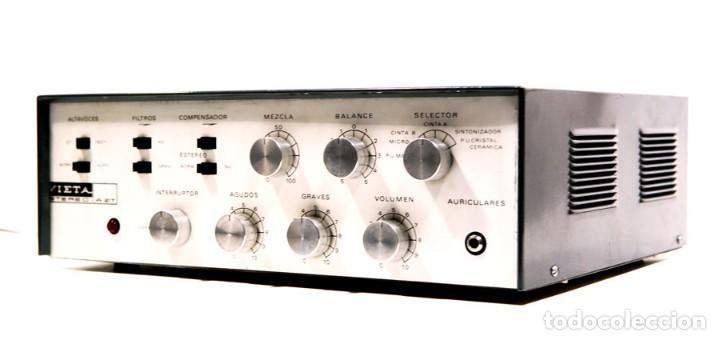 AMPLIFICADOR VALVULAS HI-FI VIETA A-217 (Radios, Gramófonos, Grabadoras y Otros - Amplificadores y Micrófonos de Válvulas)