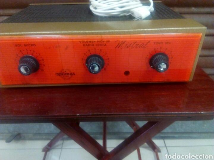 AMPLIFICADOR DE VÁLVULAS MISTRAL (Radios, Gramófonos, Grabadoras y Otros - Amplificadores y Micrófonos de Válvulas)