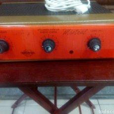 Radios antiguas: AMPLIFICADOR DE VÁLVULAS MISTRAL. Lote 63782149