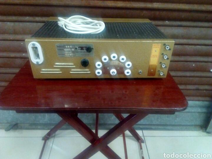 Radios antiguas: Amplificador de válvulas Mistral - Foto 2 - 63782149