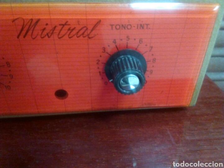 Radios antiguas: Amplificador de válvulas Mistral - Foto 6 - 63782149