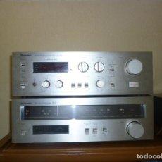 Radios antiguas: AMPLIFICADOR Y RECEPTOR DE RADIO TECHNICS. Lote 155024626
