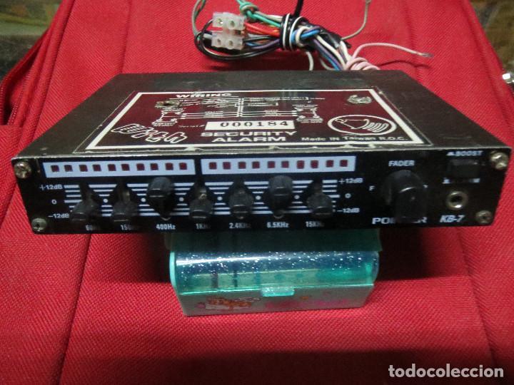 AMPLIFICADOR EQUALIZADOR POINTER.COCHE (Radios, Gramófonos, Grabadoras y Otros - Amplificadores y Micrófonos de Válvulas)