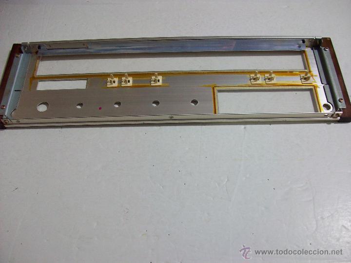 Radios antiguas: MARANTZ SR 1000/ Frontal original, con cristales, del amplificador. - Foto 5 - 71666011