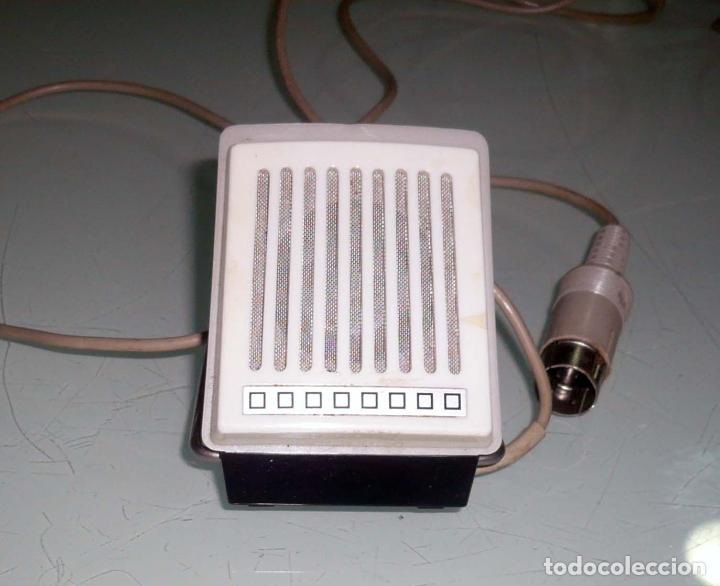 ANTIGUO MICROFONO DE MESA. AÑOS 60-70 (Radios, Gramófonos, Grabadoras y Otros - Amplificadores y Micrófonos de Válvulas)