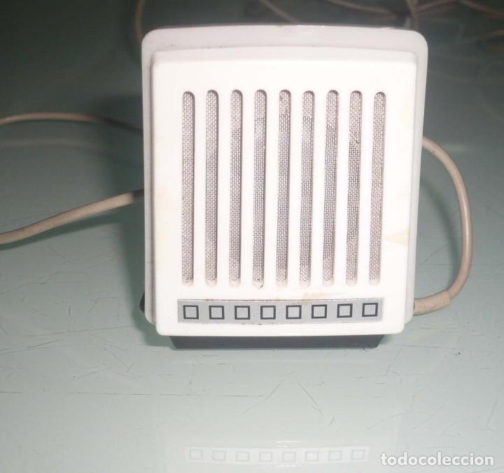 Radios antiguas: Antiguo Microfono de mesa. años 60-70 - Foto 3 - 73510231