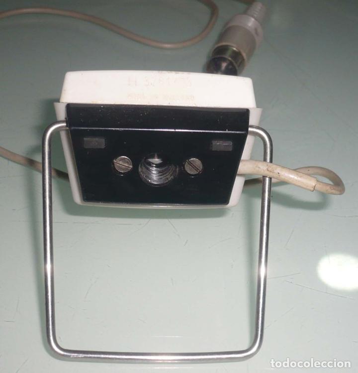 Radios antiguas: Antiguo Microfono de mesa. años 60-70 - Foto 5 - 73510231