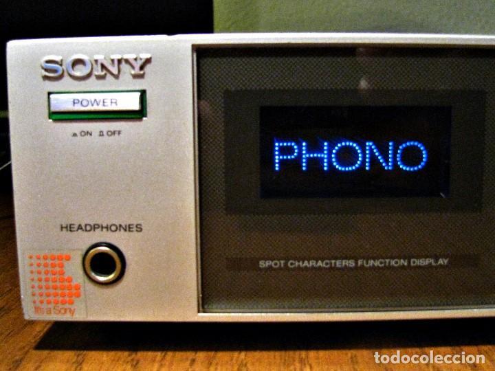 Radios antiguas: AMPLIFICADOR SONY TA V3 revisado y funcionando 33vatios RMS 009% TDH - Foto 4 - 74995023
