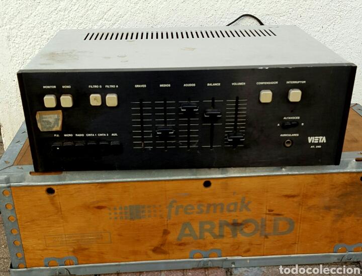 AMPLIFICADOR VIETA (Radios, Gramófonos, Grabadoras y Otros - Amplificadores y Micrófonos de Válvulas)