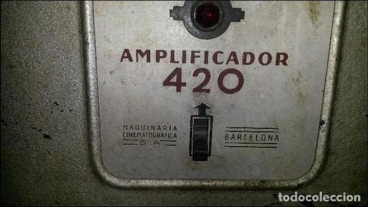 AMPLIFICADOR CINE (Radios, Gramófonos, Grabadoras y Otros - Amplificadores y Micrófonos de Válvulas)