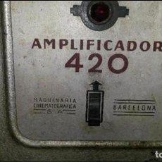 Radios antiguas: AMPLIFICADOR CINE. Lote 76887835