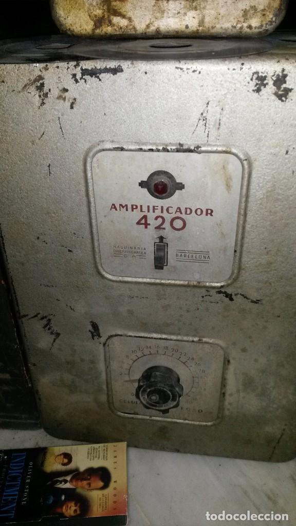 Radios antiguas: Amplificador Cine - Foto 2 - 76887835