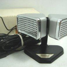 Radios antiguas: ANTIGUO MICROFONO ESTEREO - PHILIPS CARDIOIDE - STEREO 8402/00 - HOLLAND 70S. Lote 82367612